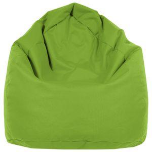 B58-Berlin Sitzsack XL Bag Sitzkissen Bodenkissen Kissen Sack In-und Outdoor 15 Farben (Hellgrün)