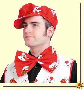 Kostüm Zubehör Schleife Köln (rot) zu Karneval, Fasching