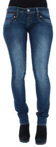 Herrlicher Piper Slim Damen Jeans 5650 D9666 831 Deep Water, Herrlicher Farben:831 Deep Water, Jeans Größen:W28/L32