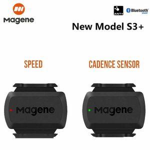 Magene S3 + Geschwindigkeits-Trittfrequenzsensor Fahrrad ANT + Bluetooth-Doppelmodulsensor