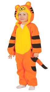 Baby Tiger Kostüm für Kinder Gr. 86-104, Größe:86/92