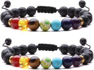 Echte Natürliche Edelstein Armbänder 8mm Heilende Chakra Perlenarmband für Familie und Freunde Schutz Schmuck Geschenk für Frauen und Männer