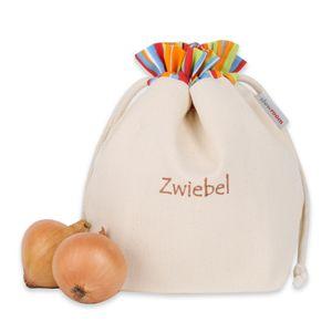 slowroom - Zwiebelbeutel Gemüsebeutel Baumwolle