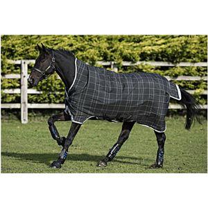 Horseware Rhino Wug Turnout 0g Lite - Black/Grey/White, Größe:140