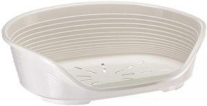 FERPLAST Korb Siesta Deluxe 6 - 70,5x52x23,5 cm - Weiß - Für Hund und Katze