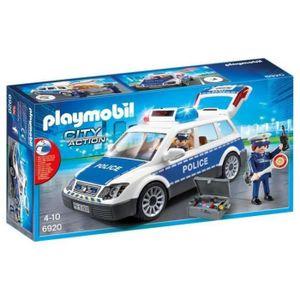 PLAYMOBIL 6920 Polizei mit Licht und Sound