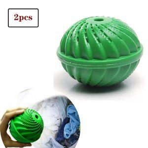2 x Original Waschball - Öko Waschkugel - Waschen ohne Waschmittel - nachhaltig & umweltfreundlich - Vorteilspack - hohe Qualität für Allergiker, Kinder und Umweltbewusste