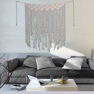 Boho Macrame Hanging Wall Decor   Schöne Wohnheim Raumdekoration EIN Cremeweiß