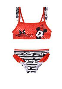 Disney Minnie Mouse Bikini Bade-Set Badeanzug Bademode, Größe:104