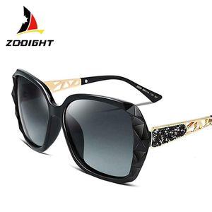 Zodight Designer Polarisiert Sonnenbrille Damen Frauen Mädchen Überdimensional UV400
