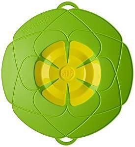 Kochblume das Original - der Überkoch-Schutzdeckel klein Farbe grün 72011.02 25,5 cm
