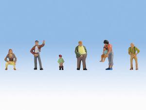NOCH Pinkelpause, Figuren, NOCH, Mehrfarbig, HO (1:87), Junge/Mädchen