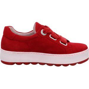 Gabor Florenz Damen Low Sneaker Rot Schuhe, Größe:39