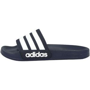 adidas Adilette Shower Slipper Herren collegiate navy/footwear white/collegiate navy Schuhgröße UK 8 | EU 42