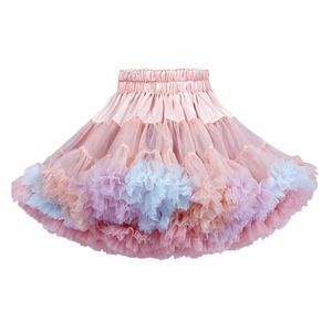 Kinder Mädchen Ballett Tutu Kleinkind Ballett Tutu Petticoat Party Dress Up Kostüm,Farbe:Rosa