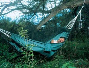 Hängematte Amazonas Moskito-Traveller mit Moskitonetz 220x140cm
