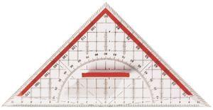 Geo-Dreieck Geometriedreieck mit Griff groß