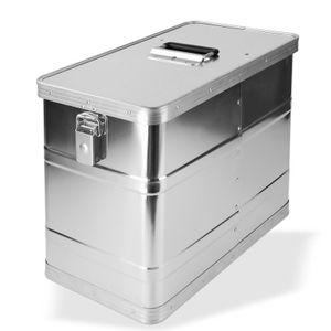 Alubox Alukoffer 32 Liter Seitenkoffer Motorradkoffer Motorradbox Transportbox
