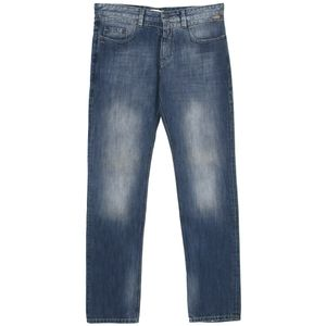 21236 Mac Jeans, Tapered,  Herren Jeans Hose, Denim, blue used, W 33 L 34