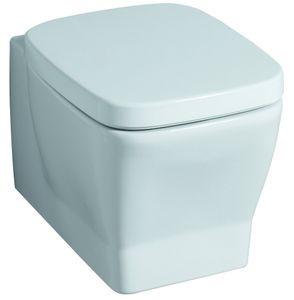 Keramag Auslauf WC Sitz passt nur zu Silk 572620, weiß(alpin) 572620000