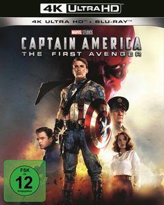 Captain America - The First Avenger(UHD) Min: 123DD5.1WS 4K Ultra