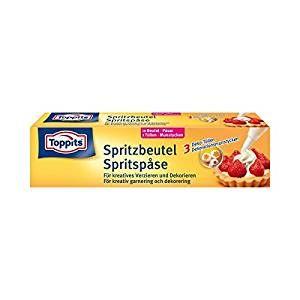 Toppitz Spritzbeutel hygienische und praktische Einmal Beutel Inhalt 10 Stück