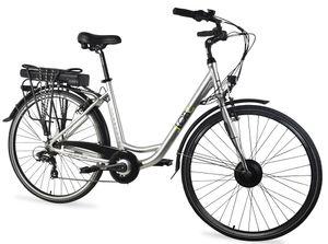 LLobe Alu-City E-Bike SilverLine 28 Zoll, Batterie 36V/10Ah, 7-Gang Shimano