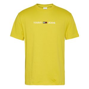 Tommy Jeans Straight Logo Valley Yellow XL
