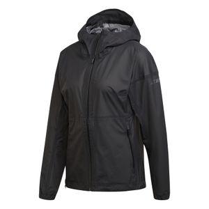 adidas Damen Outdoorjacke Running-Jacked Terrex W AGRAVIC 3L JACKET schwarz, Größe:M