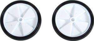 Volare Seitenradsatz 12-20 Zoll Kunststoff weiß / schwarz