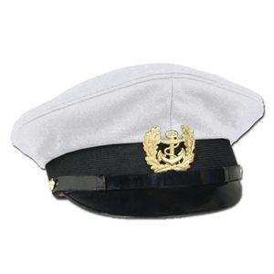 Marine Schirmmütze M.abz.weiss