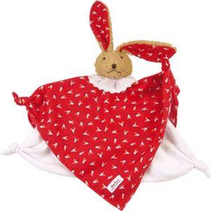 Käthe Kruse Klassisches Schmusetuch Bunny Rot 0174849