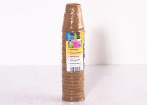 Anzuchttöpfe Aussaattopf 24x6 cm Pflanztöpfe Saattöpfe