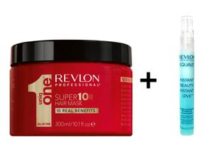 Revlon UNIQ One Super 10R Hair Mask 300ml + Revlon Equave Detangling Conditioner 9ml