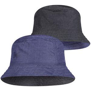 BUFF Travel Bucket Hat eidel denim-blue S/M