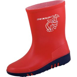 Dunlop Kinderstiefel Mini rot/blau Gr. 22