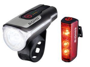 SIGMA SPORT Fahrrad Beleuchtungsset Aura 80 USB/Blaze 0 -