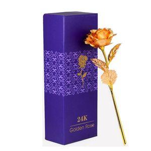 Goldrose - mit 24K Gold vergoldete Rose
