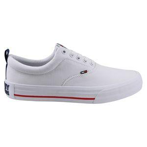 Tommy Hilfiger Classic Low Herren Sneaker Weiß (EM0EM00405 YBS) Größe: 45