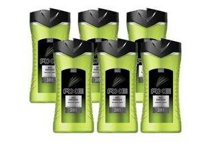 AXE 3in1 Duschgel Anti-Hangover 6x 400ml Shampoo Showergel Shower Gel Men Herren