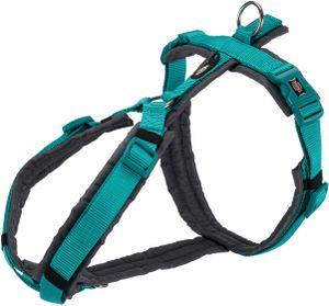 hundegeschirr Premium Trekking 44-53 cm nylon aqua