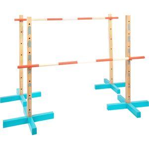 small foot 11911 Hindernis-Set 3 in 1 Active, aus Holz, Outdoor-Bewegungsspielzeug, ab 5 Jahren