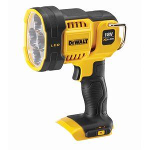 DeWALT Akku-Strahler LED DCL043-XJ 18V - Baustrahler, Arbeits-Lampe mit Leuchtstärke 1000 Lumen, Leuchtweite 400m