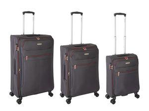 Travelhouse - Tropea - Reisekoffer Trolley Set, S+M+L, Grau