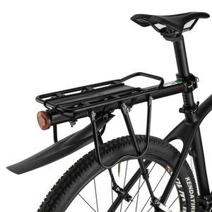 """ROCKBROS Gepäckträger Fahrrad mit Schutzblech für MTB 24""""-29"""" max 50KG Alu"""