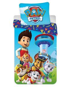 Paw Patrol Kinder Bettwäsche Set 135x200 80x80 - Baumwolle Ryder Chase Everest