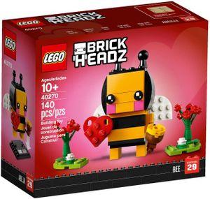 LEGO 40270 Valentinstags-Biene  LEGO Anzahl Anleitungen: 1, Thema: LEGO Holiday, Gewicht: 0.142 KG, Anzahl Teile: 140, Altersberatung: 10+, Verpackungsmaße (lxbxh): 14 x 12 x 6 cm, Veröffentlicht in: 2018, Zahl: 40270-1, EAN: 5702016122015