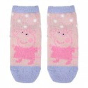 Anti-Rutsch-Socken Peppa Pig 74476 Marineblau Rosa ;  Fussgrosse: 23-26
