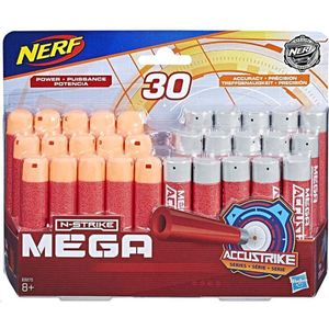 Hasbro Nerf Accustrike Mega Darts Combo 30-Pack