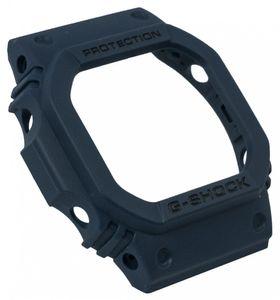 Casio | G-Shock GW-M5610 Bezel Lünette blau mit schwarzer Schrift